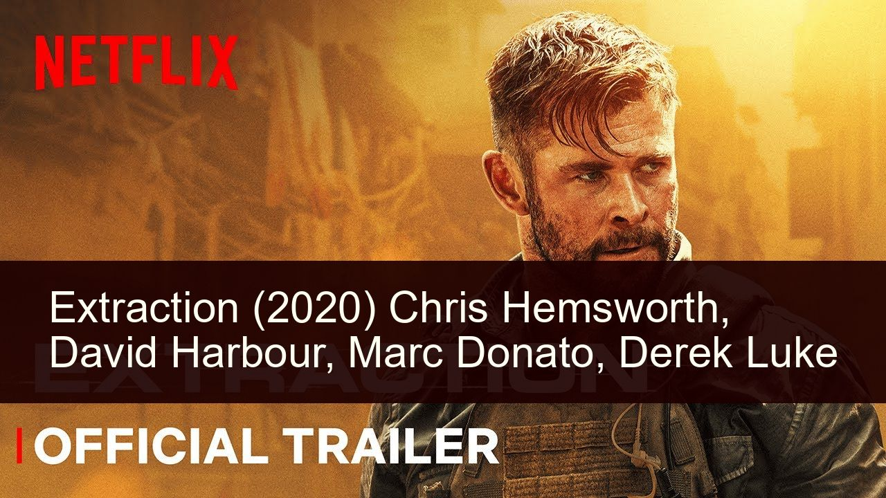 Extraction 2020 In 2020 Chris Hemsworth Derek Luke Official Trailer