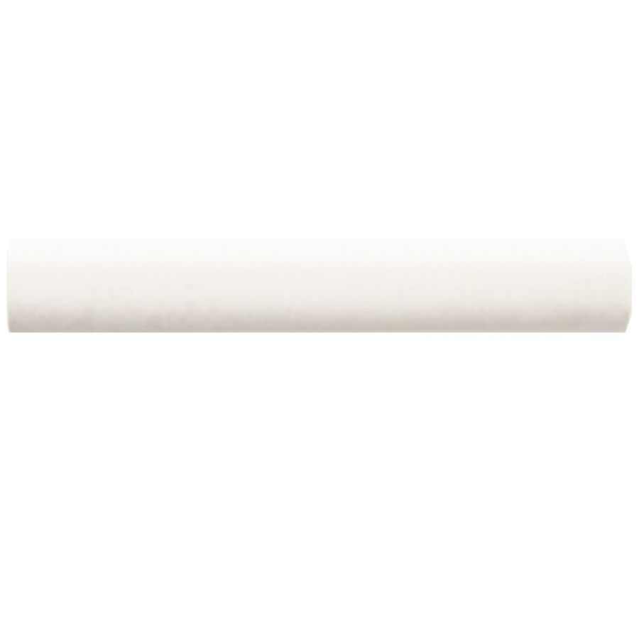 American Olean Bright Ice White Ceramic Quarter Round Tile 1 In X 6 In 0025a106sp In 2020 Round Tiles Olean White Ceramics