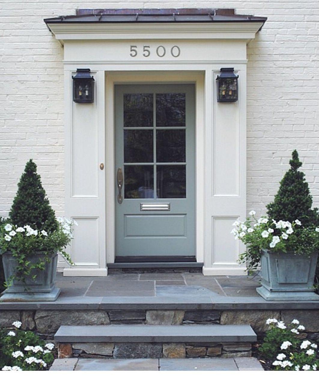 Doors Exterior Door TrimExterior PaintFront