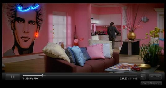 29ba26e1b80 Room from the movie St.Elmo s Fire with a Billy Idol mural.