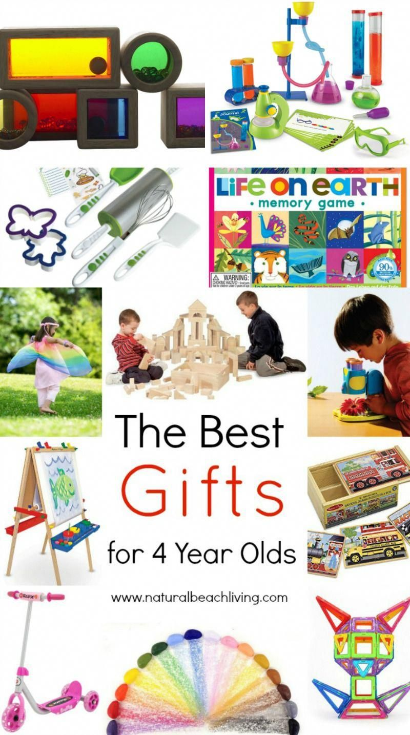 The Best Gifts for 4 year olds, Open ended toys, outdoor ...