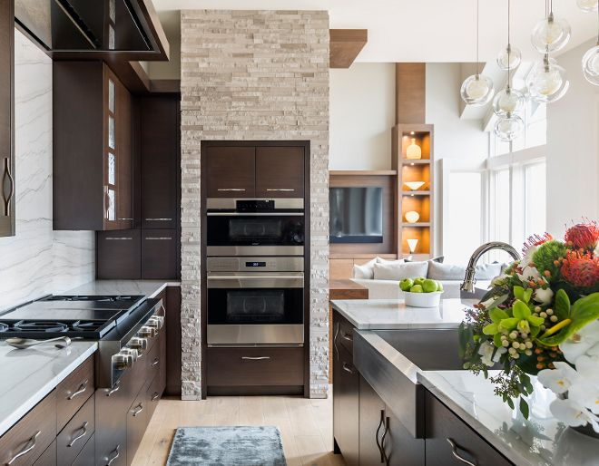 Kitchen Wall Oven Wall Oven The Wall Oven Features Stone And