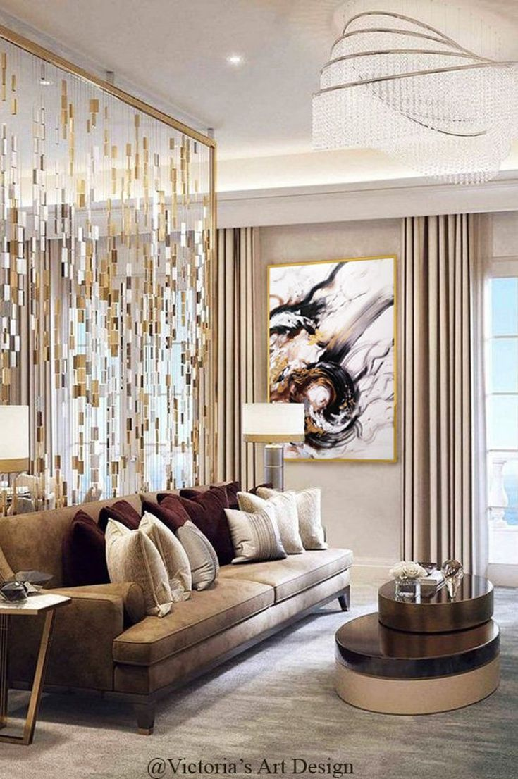 Opulent Living Room Luxury Homes