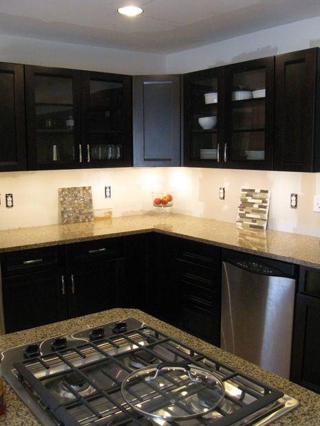 armoires de cuisine claires picture of high power led under cabinet lighting diy great looking and bright only