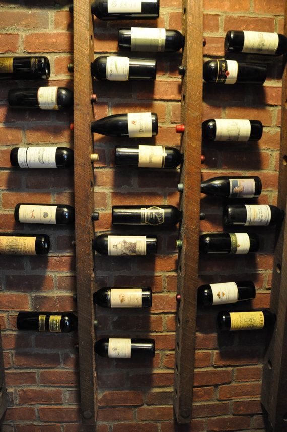 Wine rack 16 bottle ladders set of 3 creatieve pinterest wijnkelder wijn en wijnrekken - Decoratie voor wijnkelder ...