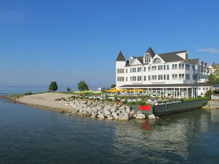 The Hotel Iroquois On The Beach Mackinac Island Mackinac Michigan Road Trip Mackinac Island