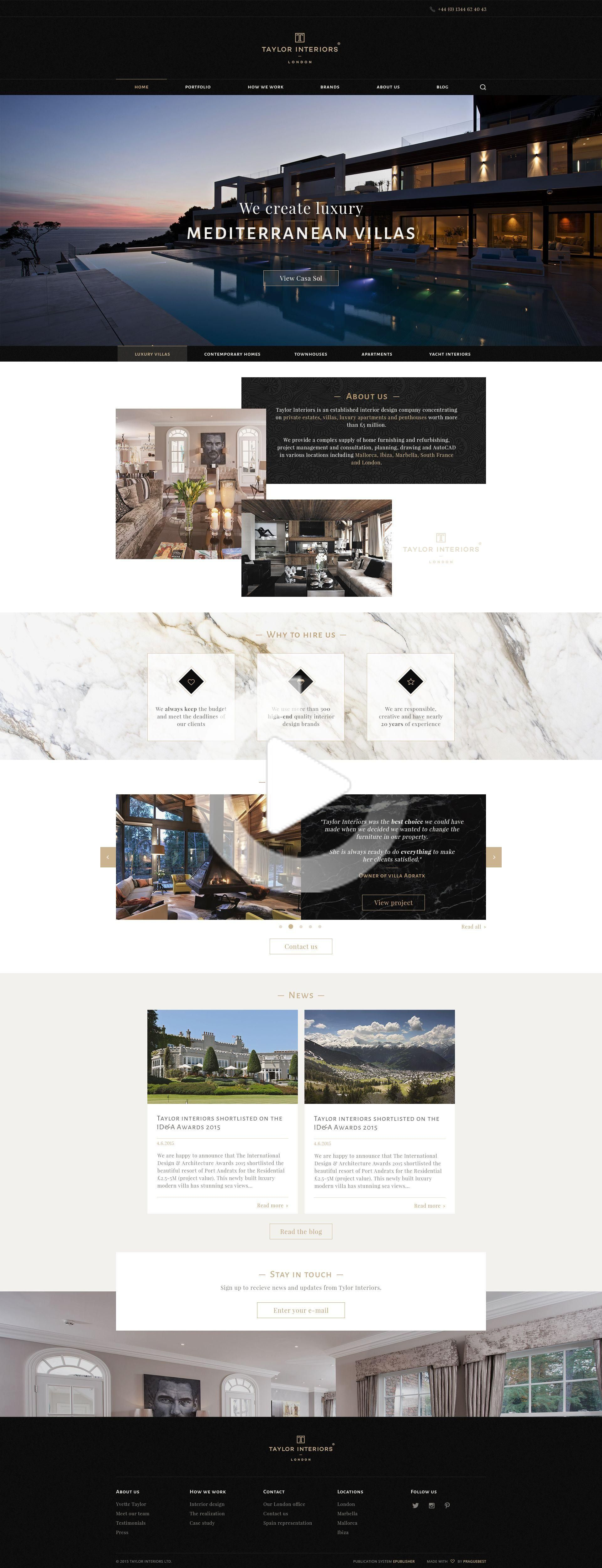 This Is One Of My Favorite Website Layouts Too In 2020 Real Estate Website Design Hotel Website Design Real Estate Web Design