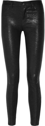 J Brand - Stretch leather skinny pants #15things #fashion #style #trend #oppositesattract #jbrand