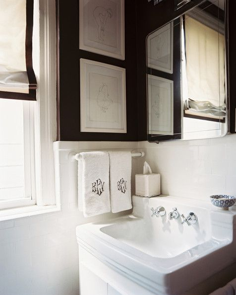 Bathroom Photos Brown Walls White Tiles And Bathroom Photos - Bathroom hand towels for small bathroom ideas