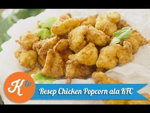 Resep Chicken Popcorn Ala Kfc Yuda Bustara Youtube Resep Makanan Resep Cepat Kfc