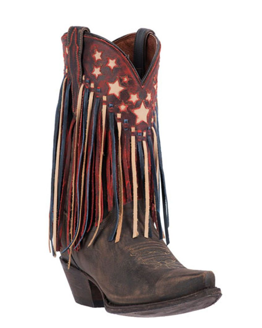 Footwear · Dan Post | Women's Liberty Fringe Boot | Country Outfitter. Western  BootsCowgirl BootsBrown Cowboy BootsLeather ...