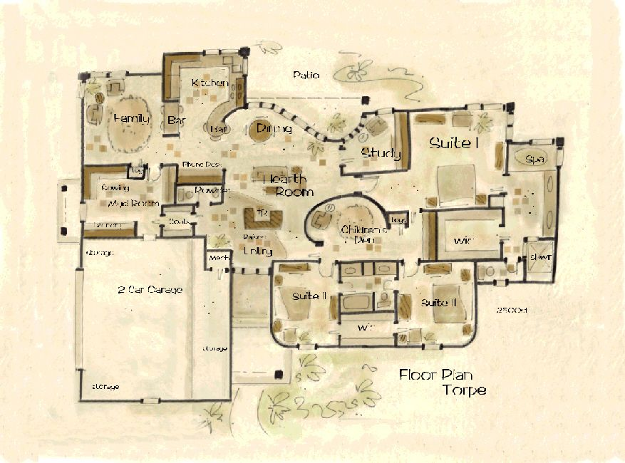 House Plan Torpe II -