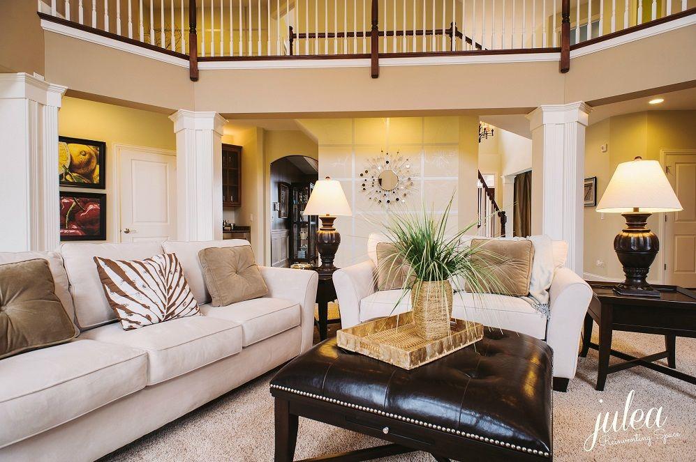 decorating model home interior decorating familyroom staging
