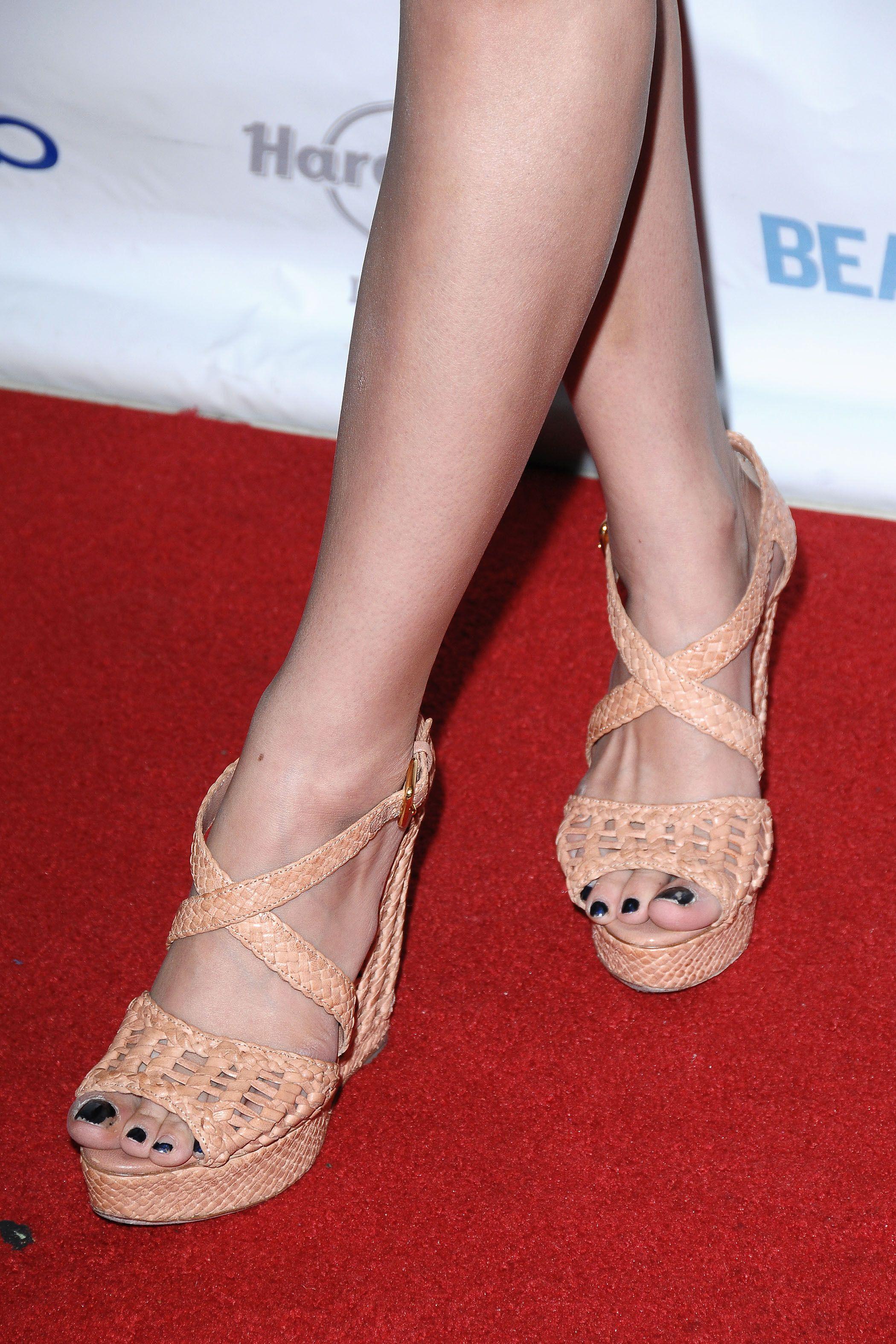 Christian Serratos's Feet