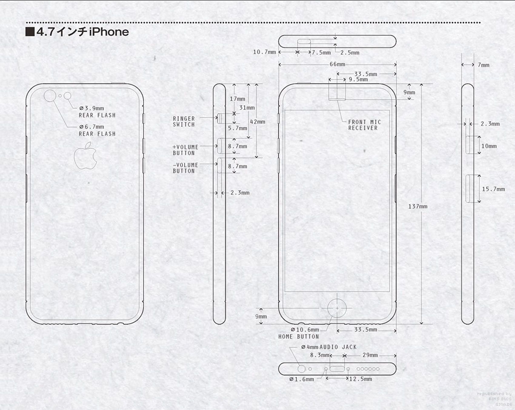 Iphone6 Blueprint