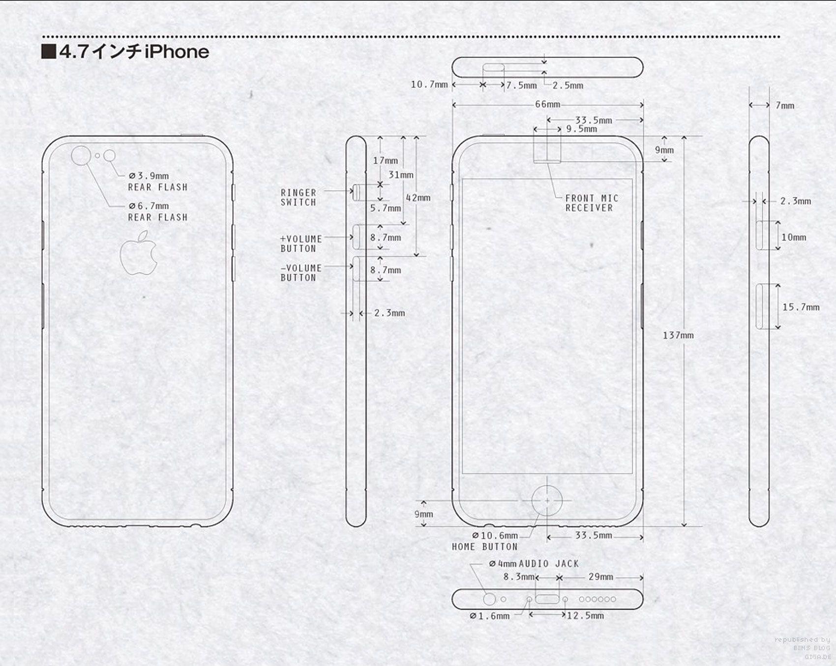 Iphone6 Blueprint