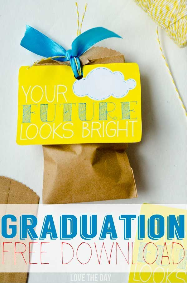 graduation free printable gift tag graduation ideas pinterest