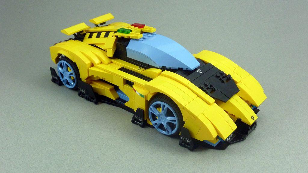 Lamborghini Egoista Legos Lamborghini Lego Cars