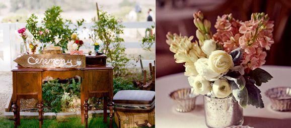 decoracin vintage para bodas buscar con google