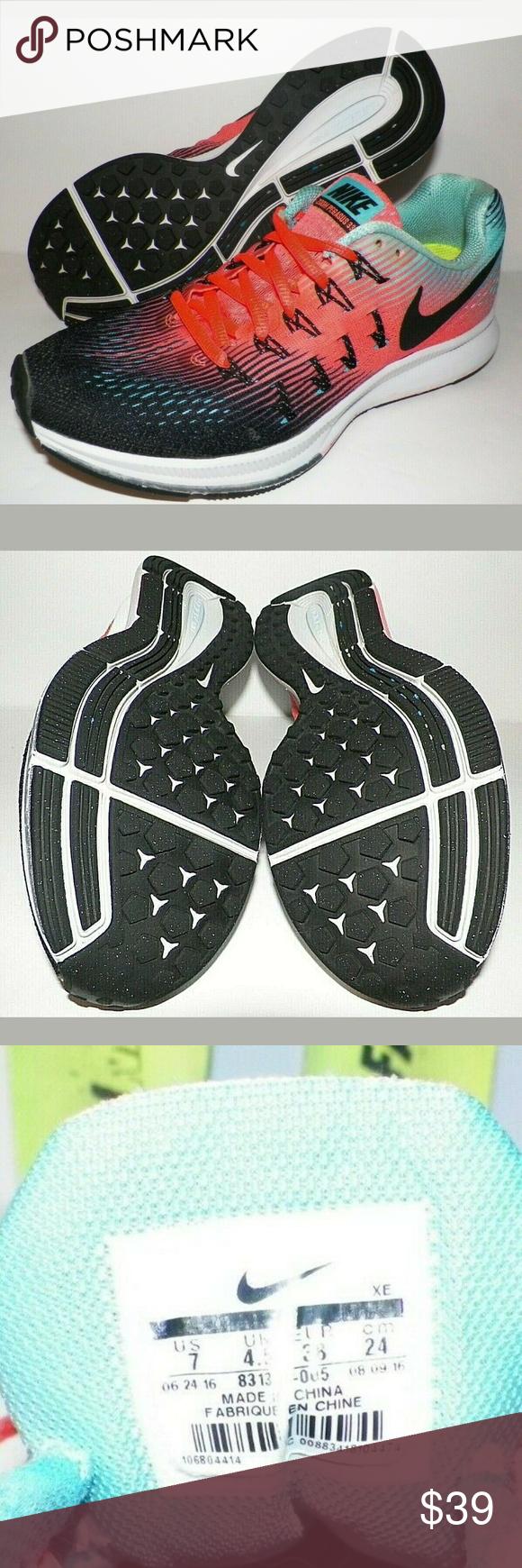 Women 7 Nike Air Zoom Pegasus Running Shoes Women's 7 Nike