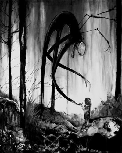 slender man little girl creepypasta