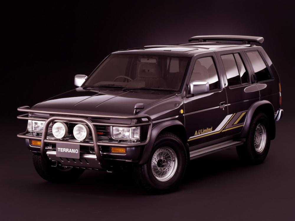 Nissan Terrano Turbo R3m A J Limited 4 Door Wbyd21 1993 日産 テラノ シボレー ブレイザー ランドローバー ディスカバリー
