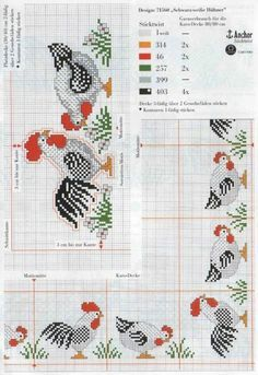 Rooster Border
