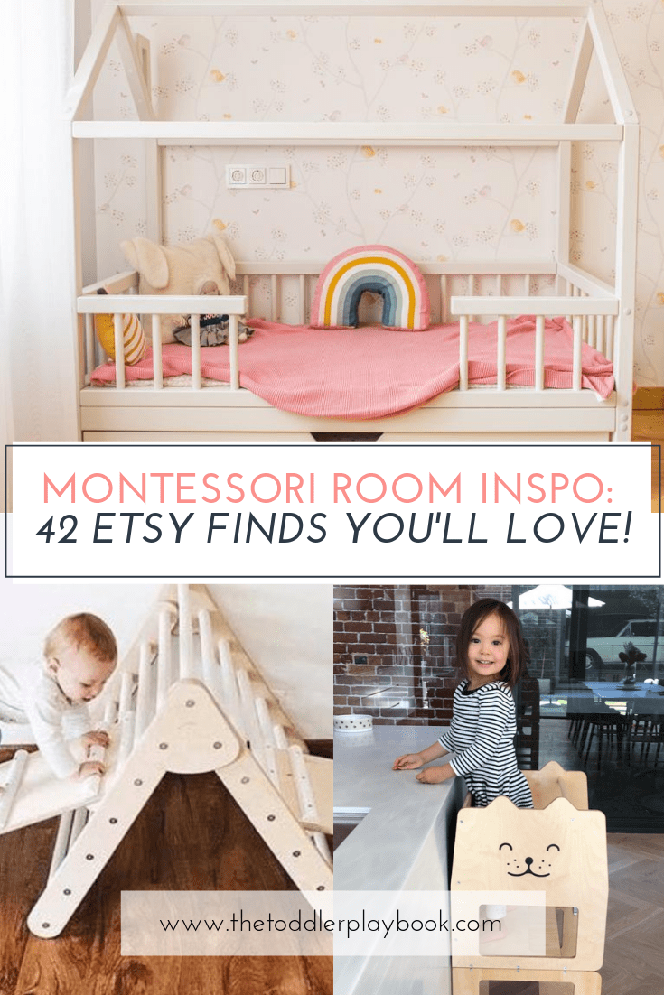 How to Design the Perfect Montessori Toddler Room #toddlerrooms