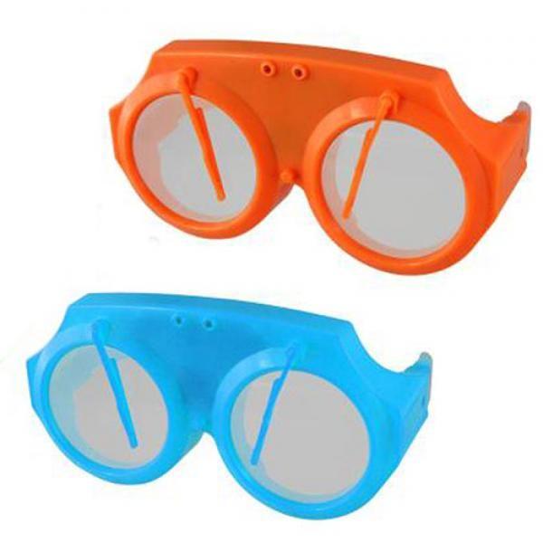 80d946895d Gafas de Broma con luz intermitente y limpiaparabrisas. Si se te avecina  una fiesta y