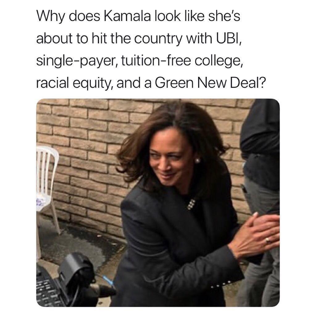 Kamala Memes On Instagram Hottest Platform Drop Of 2020 Follow For More Kamalamemes Memes Kalama Hot