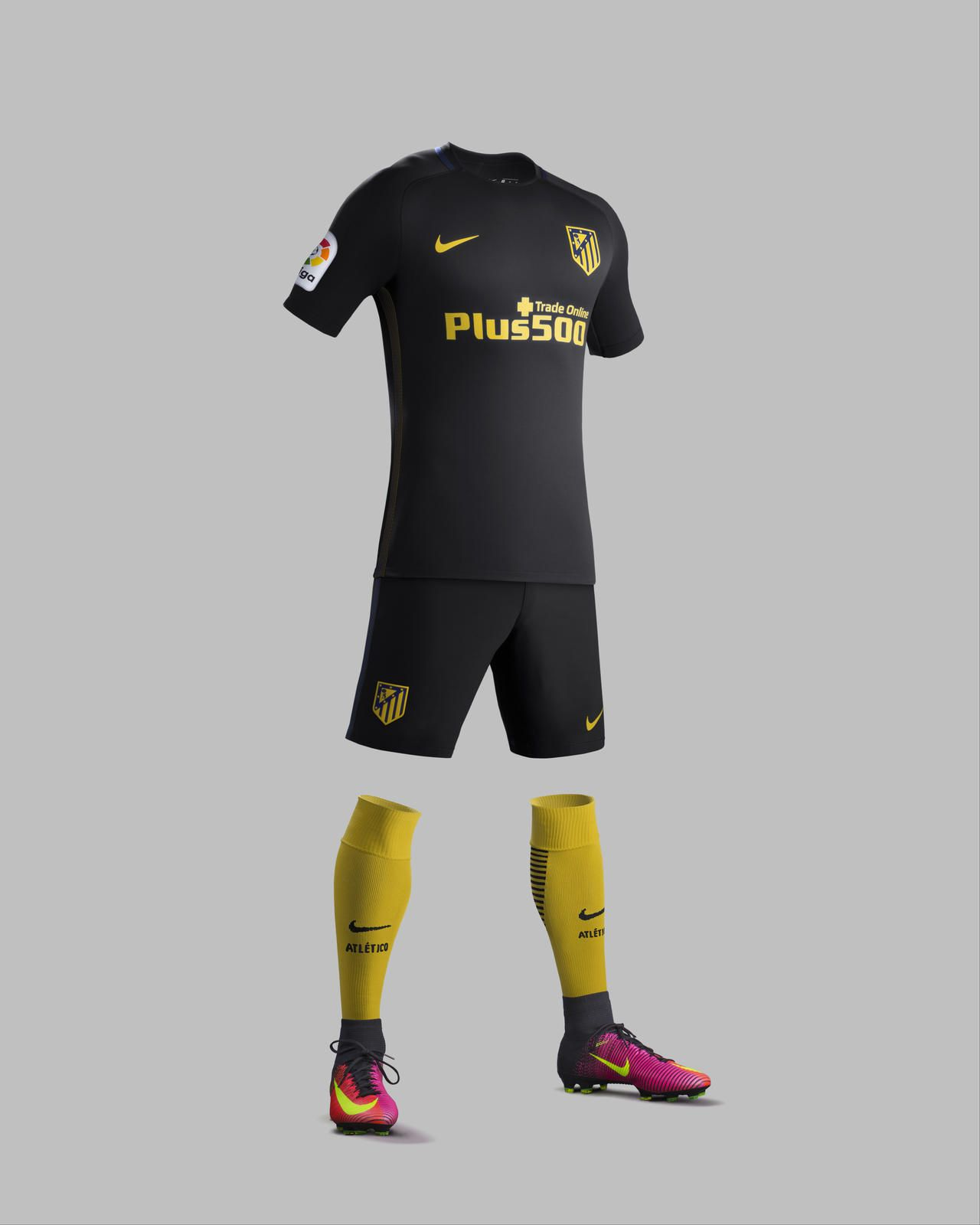 Camisas do Atlético de Madrid 2016-2017 Nike Reserva kit 0e44e579557bd