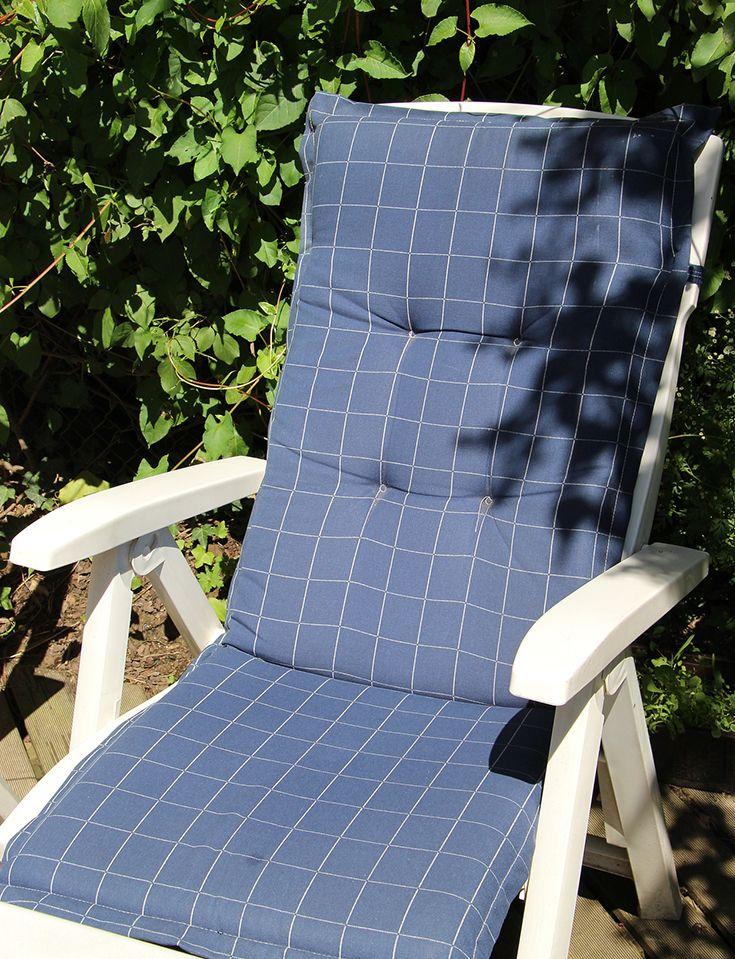Ha Diese Sitzauflagen Sind Einfach Grandios Schau Mal Rein Garten Sitz Stuhl Diy Auflage Stoff Anleitung B Sitzauflagen Stuhlauflagen Gartenstuhle