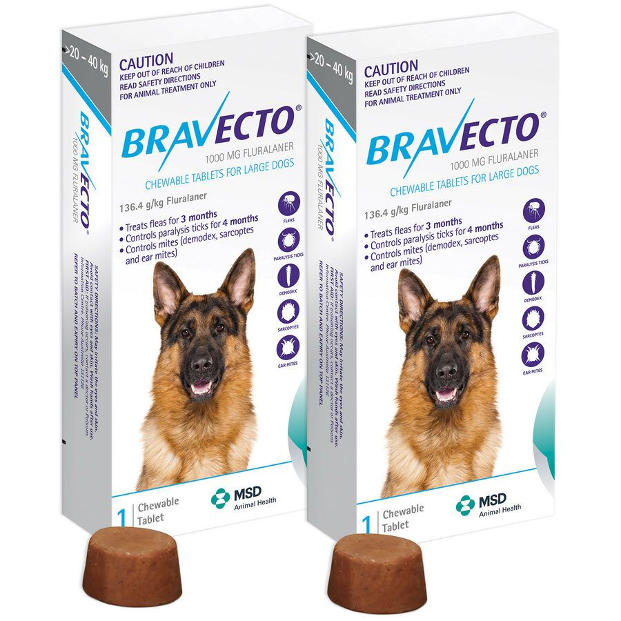 2 Boxes Genuine Bravecto For Large Dogs 20 40 Kg Pack Blue By Msd Exp 04 2020 Ad Dogs Large Boxes Large Dogs Dog Weight Anti Inflammatory For Dogs