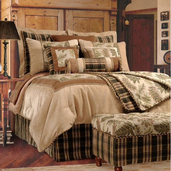 Country Rustic Bedding Jennifer Taylor Woodland Collection