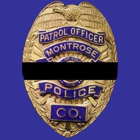 Montrose PD CO | LE badges | Police, Porsche logo, Team logo