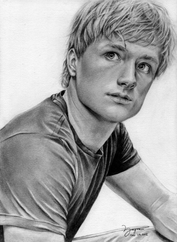 peeta josh hutcherson by no0dles919deviantartcom on deviantart