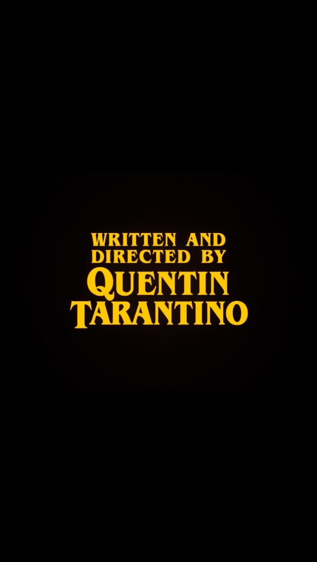 Tarantino Lockscreen In 2019 Quentin Tarantino Movie