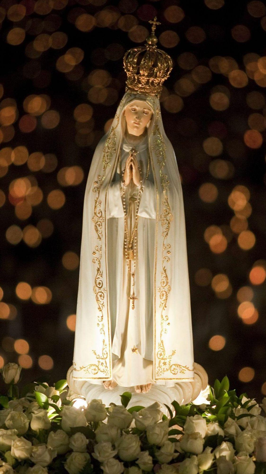 Madonna Di Fatima Imagem Do Santissimo Sacramento Fotos De