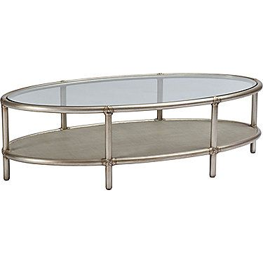 McGuire Furniture: Barbara Barry Ellipse Cocktail Table: 842