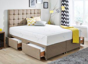 Tempur Sensation Deluxe 27 Mattress And Luxury Base Divan Bed