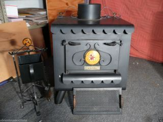 Vintage The Earth Stove 1000 Series 3340 Wood Burning