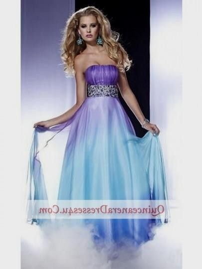 Blue And Purple Ombre Quinceanera Dresses | Wedding Dresses ...