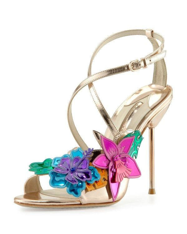 Leather Sandals HULA Spring/summer Sophia Webster kAF0Jl