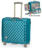 360 Crafter/'s Trolley Bag by We R Memory Keepers Aqua