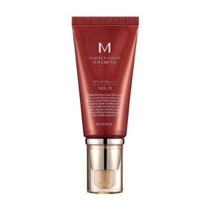 Missha M Perfect Cover BB Cream No.21 Light Beige 50ml