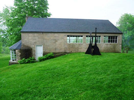Cinder Block Houses Studios Via Alexander Calder