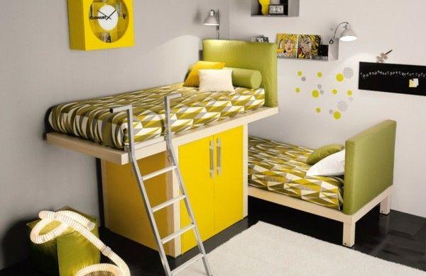 Multifunktionales Schlafzimmer gestalten - für kleine Räume