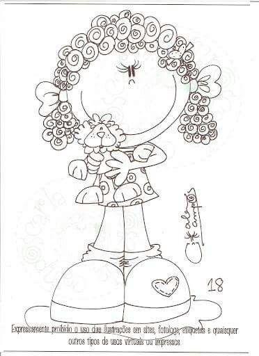 Pin De Eliane Franca Em Feltro Com Ziper Desenhos Do Doodle