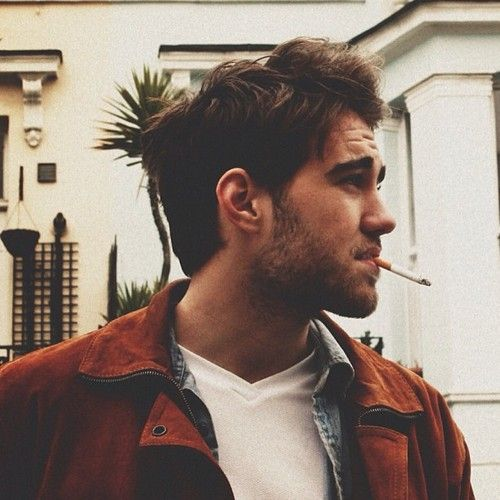Matt Corby. Cigarettes aren't allowed unless they're a metaphor.