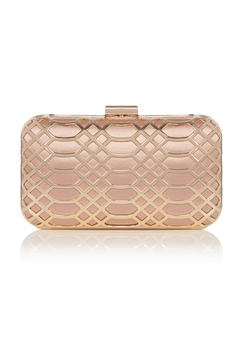 414175f7b All Accessories | Metallics ROSE GOLD CLUTCH | Coast Stores Limited ...